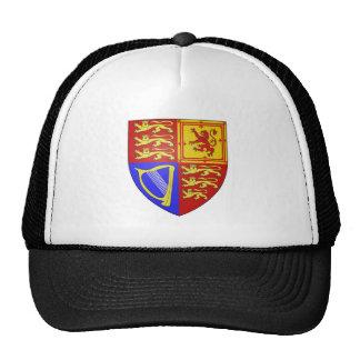 UK COAT OF ARMS TRUCKER HAT