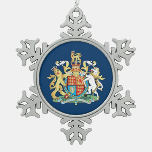 UK coat of arms Ornaments