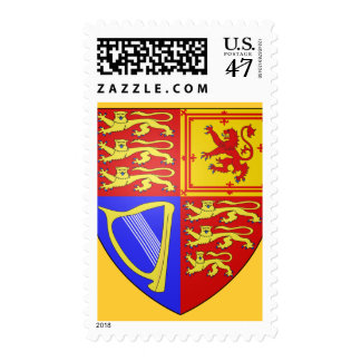 UK COAT OF ARMS POSTAGE STAMP