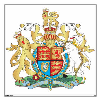UK coat of arms Wall Decal