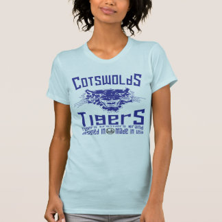 uk cotswolds tiger by rogers bros t shirts