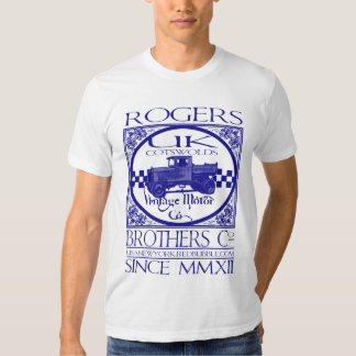 uk cotswolds vintage motor co by rogers bros T-Shirt