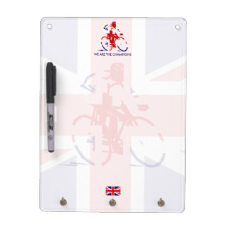 UK Cycling Dry Erase Board