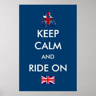 UK Cycling Poster