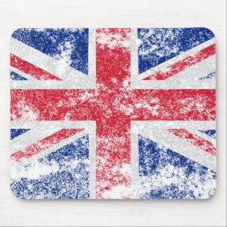 UK - Distressed Mousepad