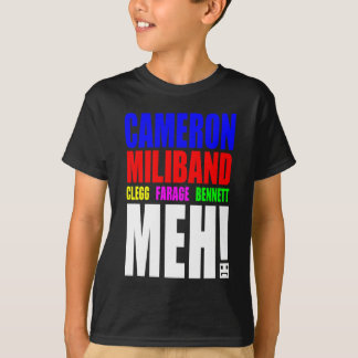 UK Election 2015 choices T-Shirt