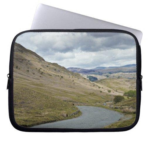 UK, England, Cumbria, Honister Pass Laptop Sleeve