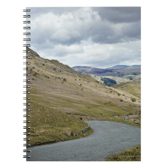 UK, England, Cumbria, Honister Pass Notebook