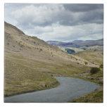 UK, England, Cumbria, Honister Pass Tile
