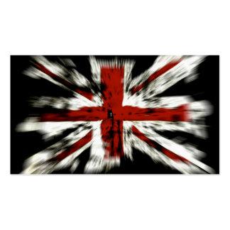 UK England Flag Business Card Template
