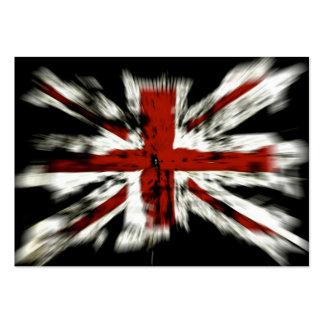 UK England Flag Business Cards