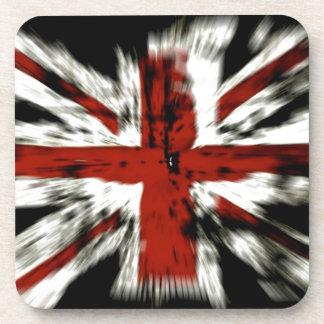 UK England Flag Beverage Coaster