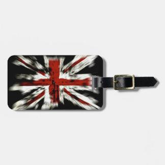 UK England Flag Tag For Bags