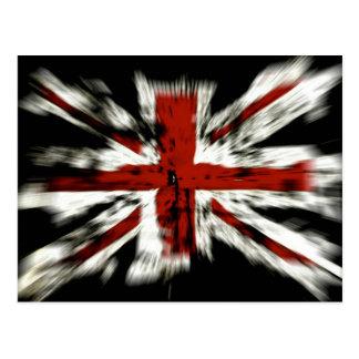 UK England Flag Postcard