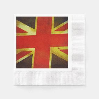 UK England Flag Paper Napkin