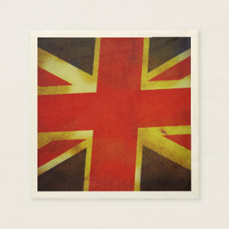 UK England Flag Disposable Napkin