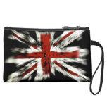 UK England Flag Wristlet Purses