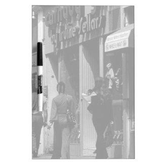 UK England London Shops Carnaby street 1970 Dry-Erase Boards