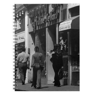 UK England London Shops Carnaby street 1970 Spiral Notebook