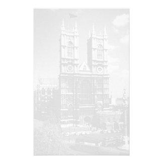 UK England London Westminster Abbey 1970 Stationery Paper