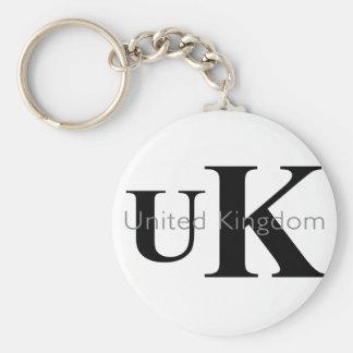 UK Fashion Label Keychain