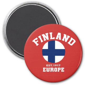 UK Finland Flag Magnet Europe