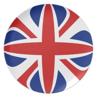 UK Fisheye Flag Plate