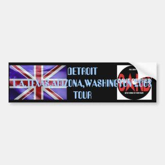uk-flag[1], FULL THROTTLE, DETROIT L.A.TEXAS,AR... Bumper Sticker