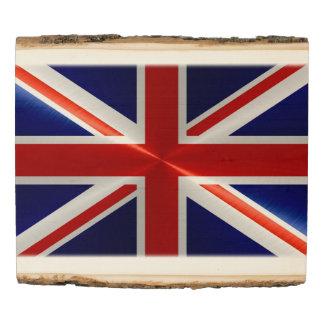 UK Flag #2 Wood Panel