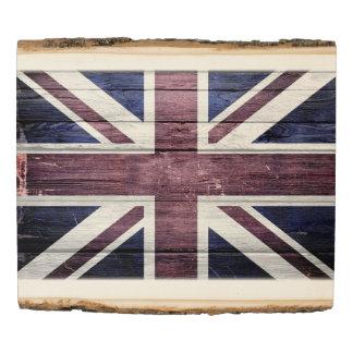 UK Flag #3 Wood Panel