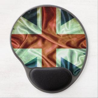 UK flag Alfombrilla De Ratón Con Gel
