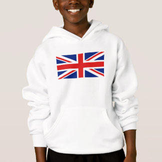 UK Flag and Map Hoodie