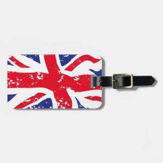UK Flag Bag Tag