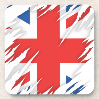 UK Flag Beverage Coaster