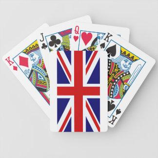 UK flag Bicycle Playing Cards
