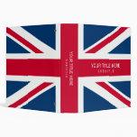 UK Flag binder
