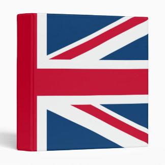 UK Flag British Union Jack binder
