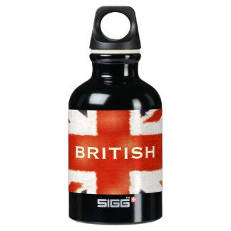 UK Flag British Union Jack Custom Bottle SIGG Traveler 0.3L Water Bottle