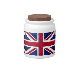 UK FLAG Candy Jar