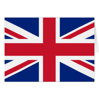 UK Flag Card