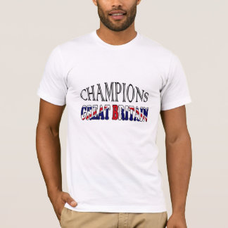 UK Flag champions sports tee