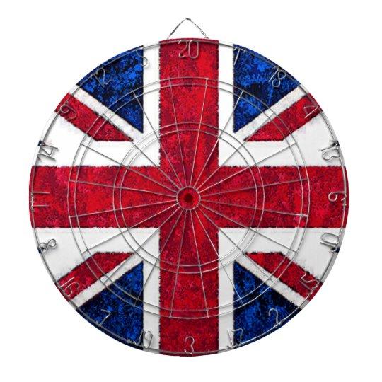 UK FLAG Dart Board