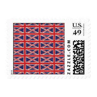 UK FLAG DESIGN POSTAGE STAMP