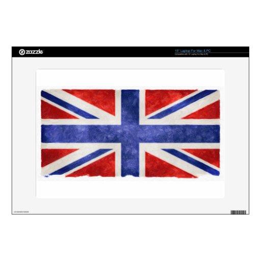 UK Flag Gifts Laptop Skins