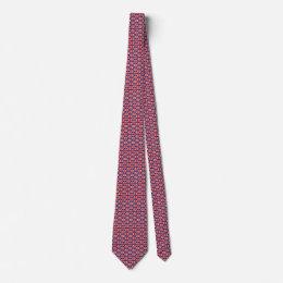 UK Flag Honeycomb Tie