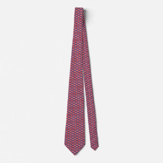 UK Flag Honeycomb Tie