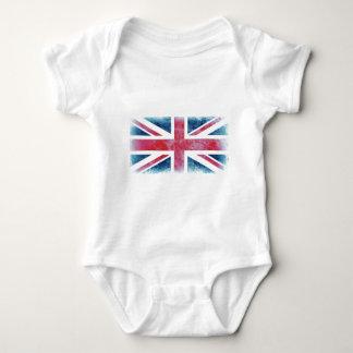 UK FLAG INFANT CREEPER