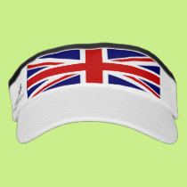 Uk flag is Union Jack Visor