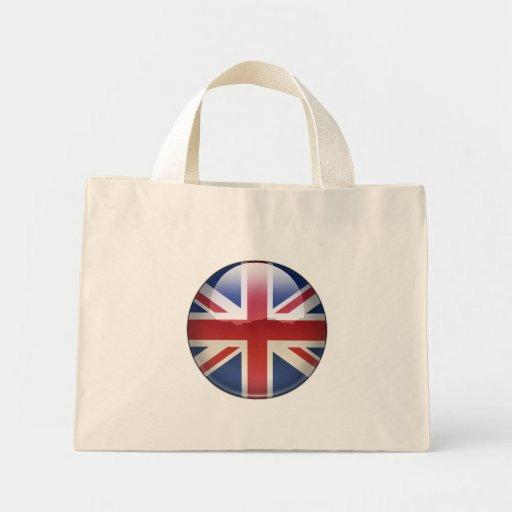 UK Flag Jewel Canvas Bag