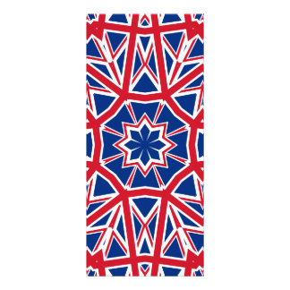 UK FLAG KALEIDOSCOPE RACK CARD